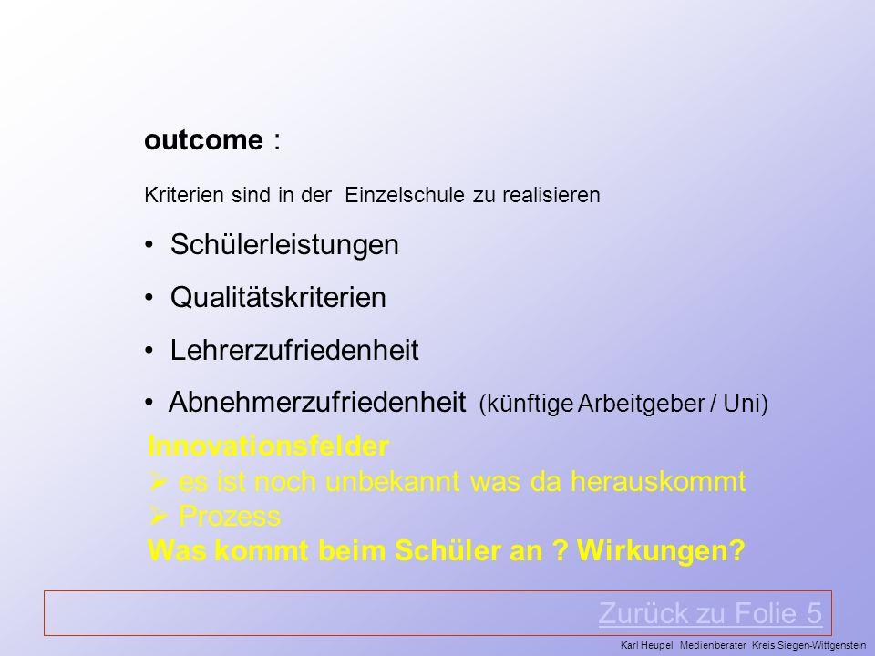 Abnehmerzufriedenheit (künftige Arbeitgeber / Uni)