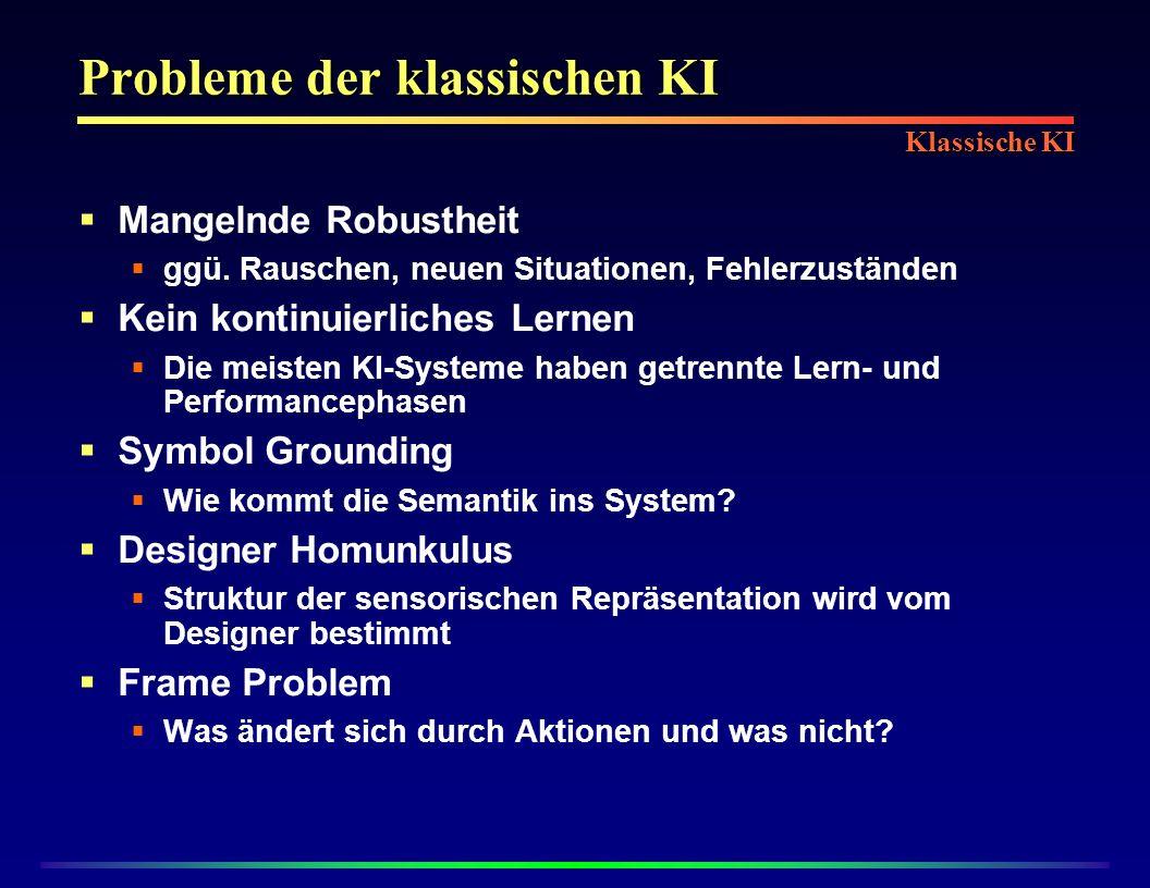 Probleme der klassischen KI