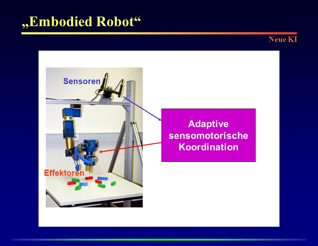 Adaptive sensomotorische Koordination