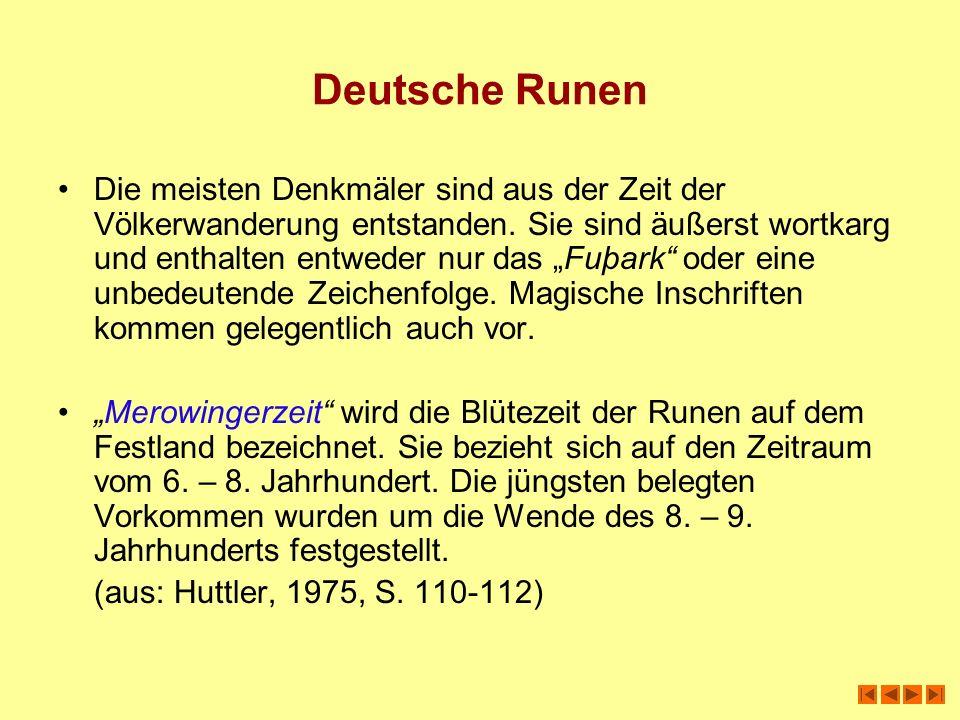 Deutsche Runen