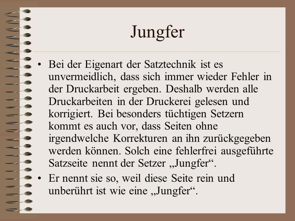 Jungfer