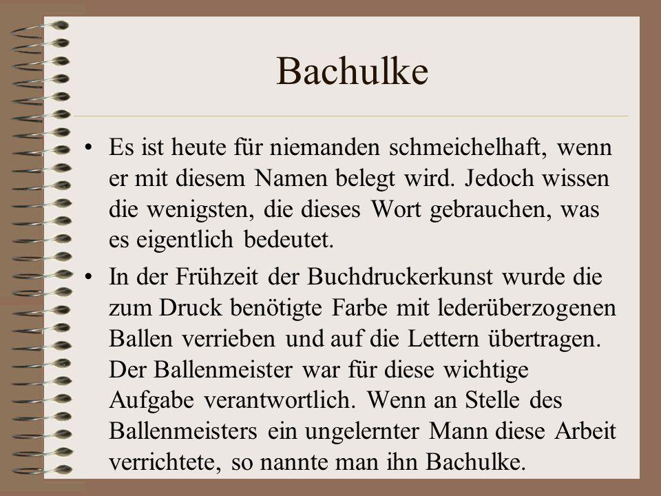 Bachulke