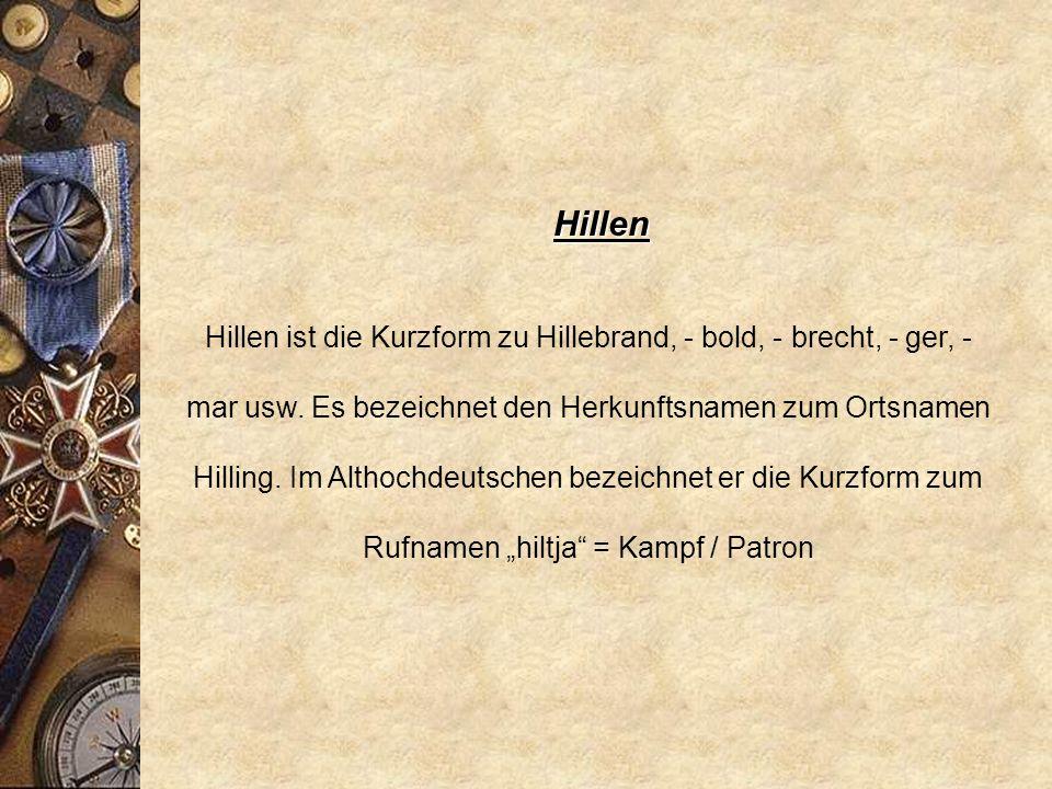 Hillen