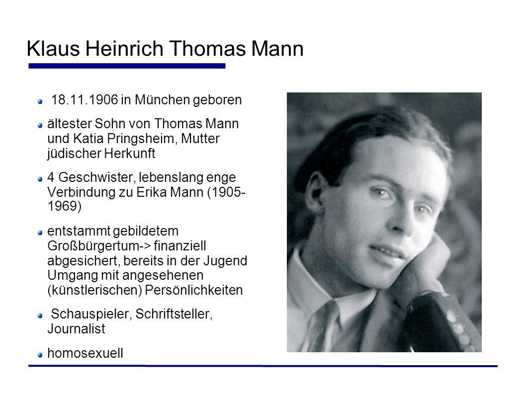 Klaus Heinrich Thomas Mann