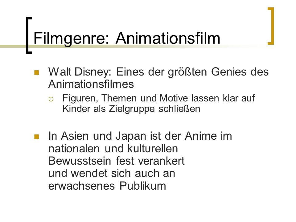 Filmgenre: Animationsfilm