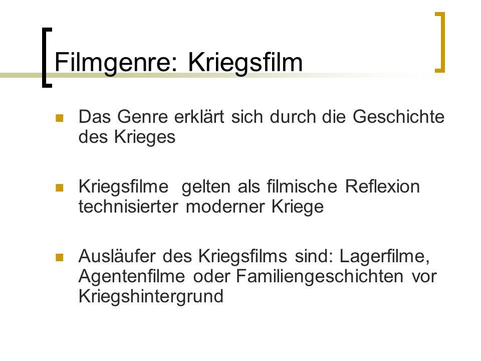 Filmgenre: Kriegsfilm