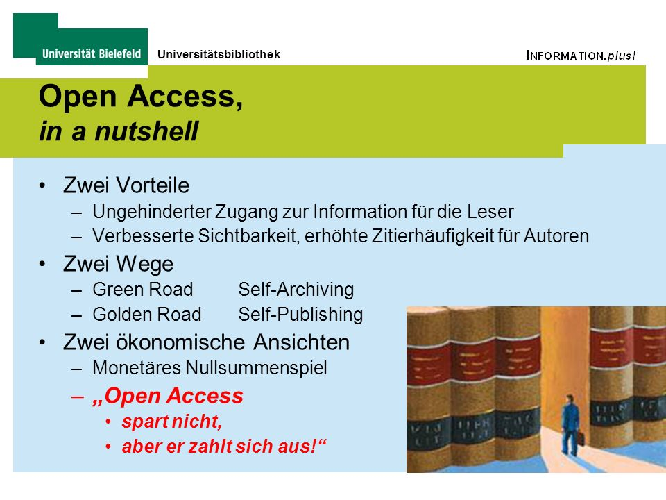 Open Access, in a nutshell