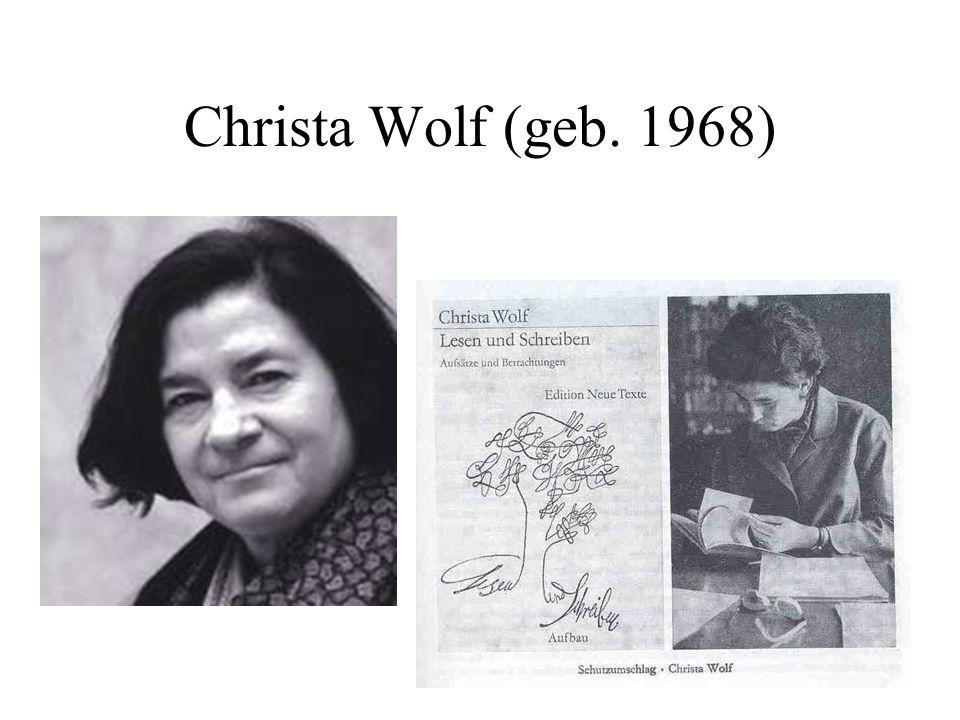 Christa Wolf (geb. 1968)