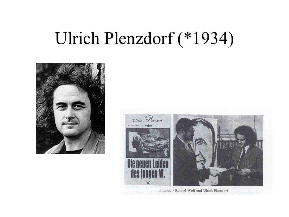 Ulrich Plenzdorf (*1934)