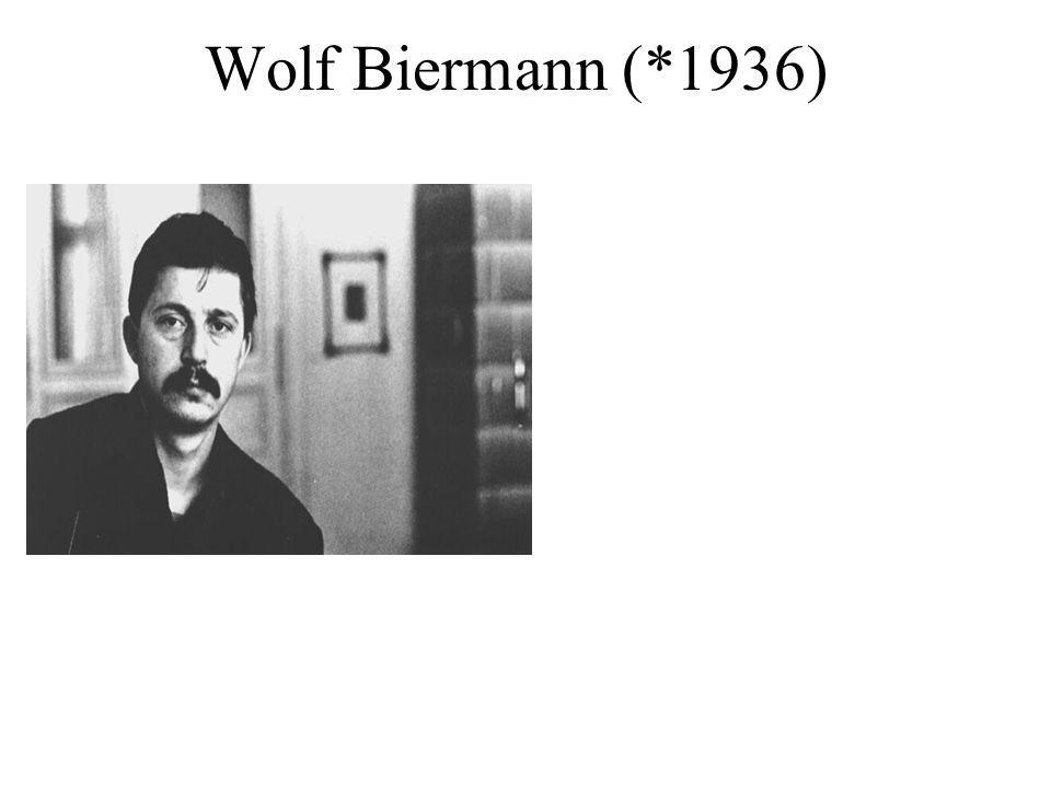 Wolf Biermann (*1936)