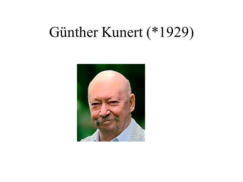 Günther Kunert (*1929)