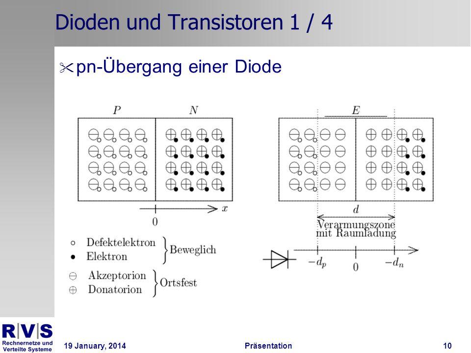 Dioden und Transistoren 1 / 4