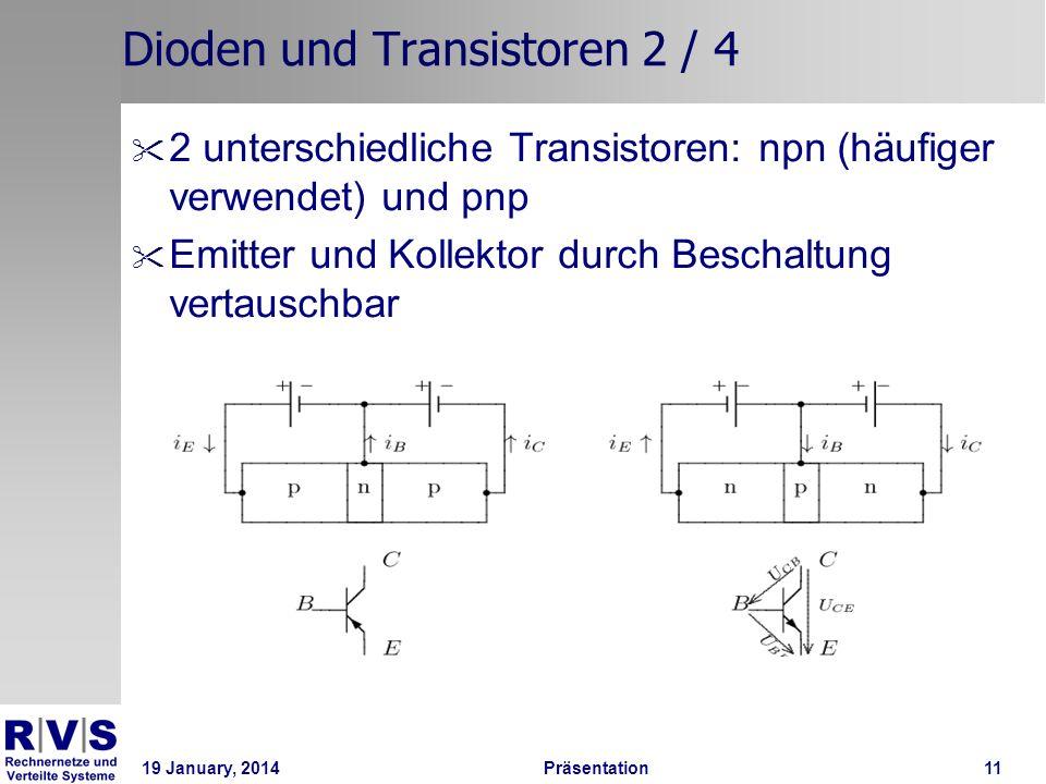 Dioden und Transistoren 2 / 4