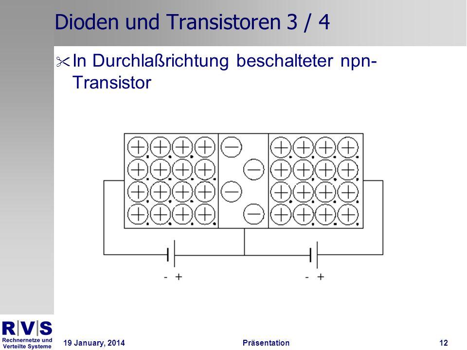Dioden und Transistoren 3 / 4