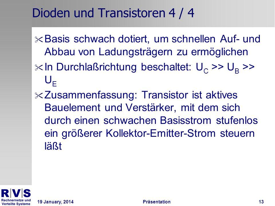 Dioden und Transistoren 4 / 4