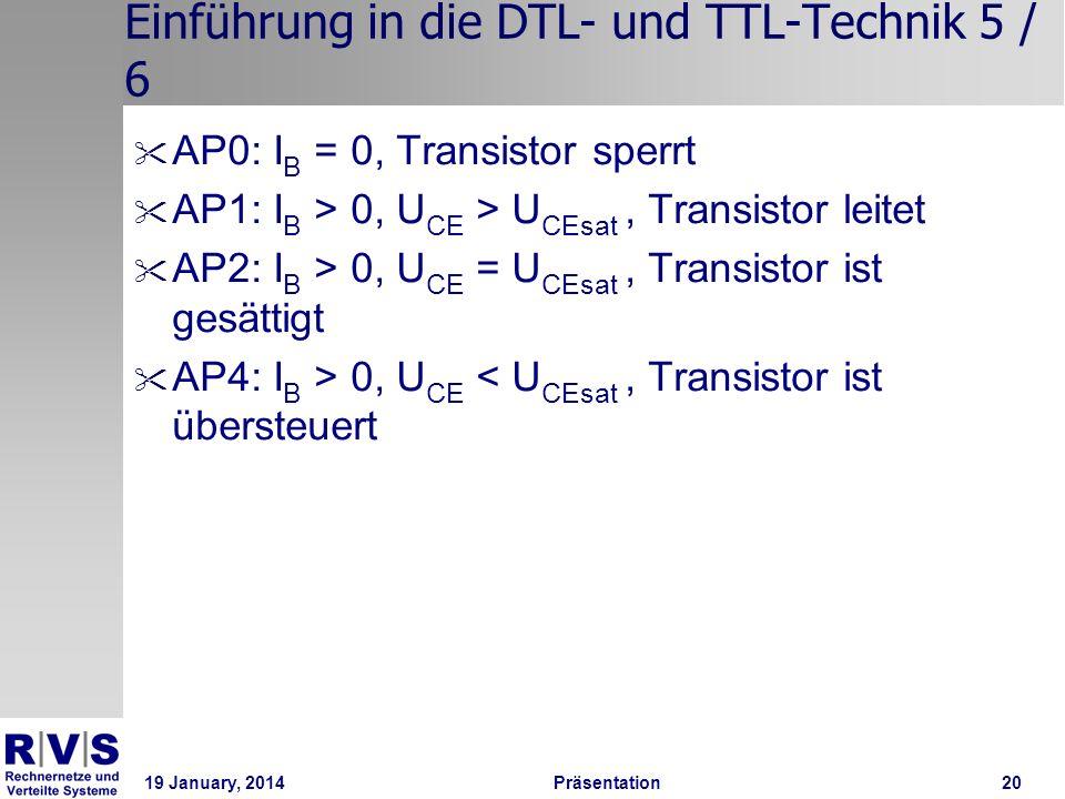 Einführung in die DTL- und TTL-Technik 5 / 6