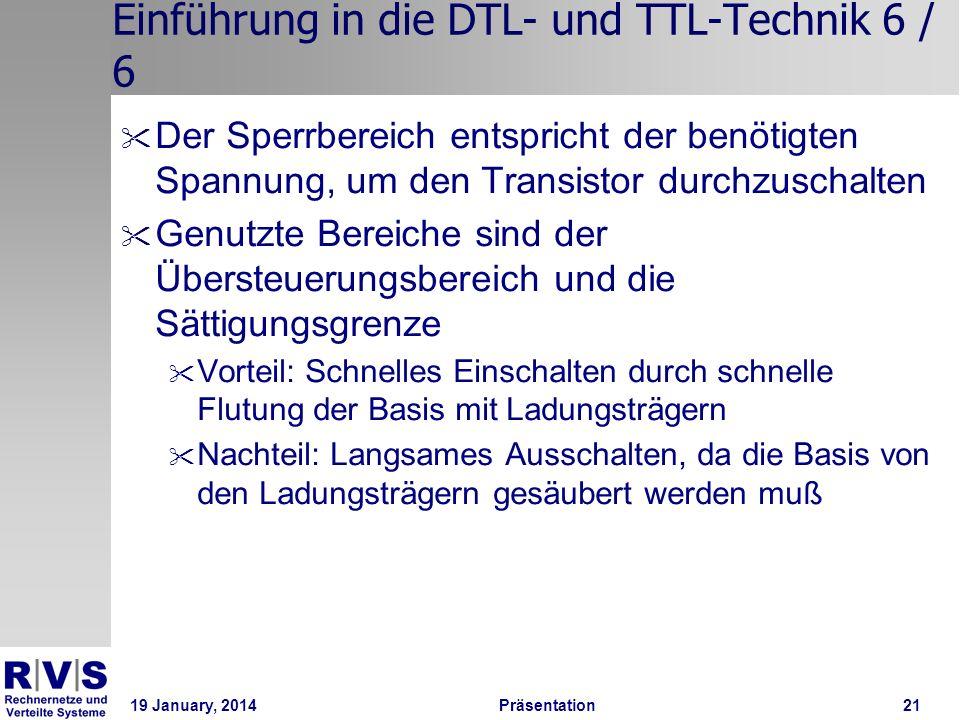 Einführung in die DTL- und TTL-Technik 6 / 6
