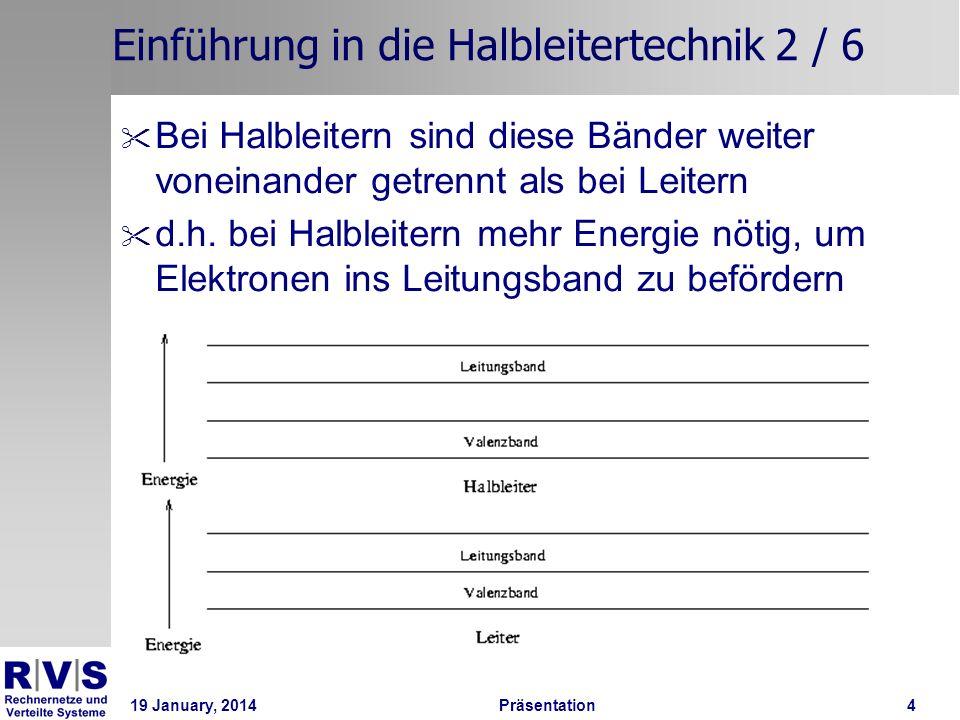 Einführung in die Halbleitertechnik 2 / 6
