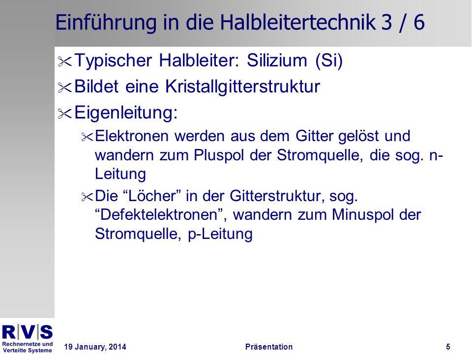 Einführung in die Halbleitertechnik 3 / 6