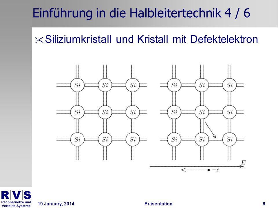 Einführung in die Halbleitertechnik 4 / 6