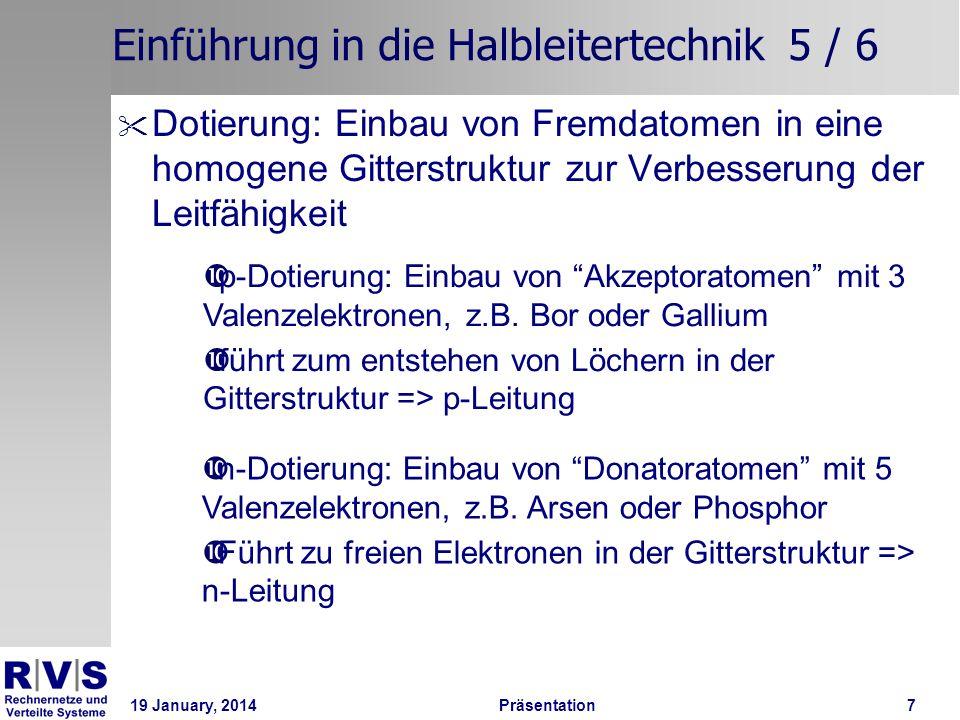 Einführung in die Halbleitertechnik 5 / 6