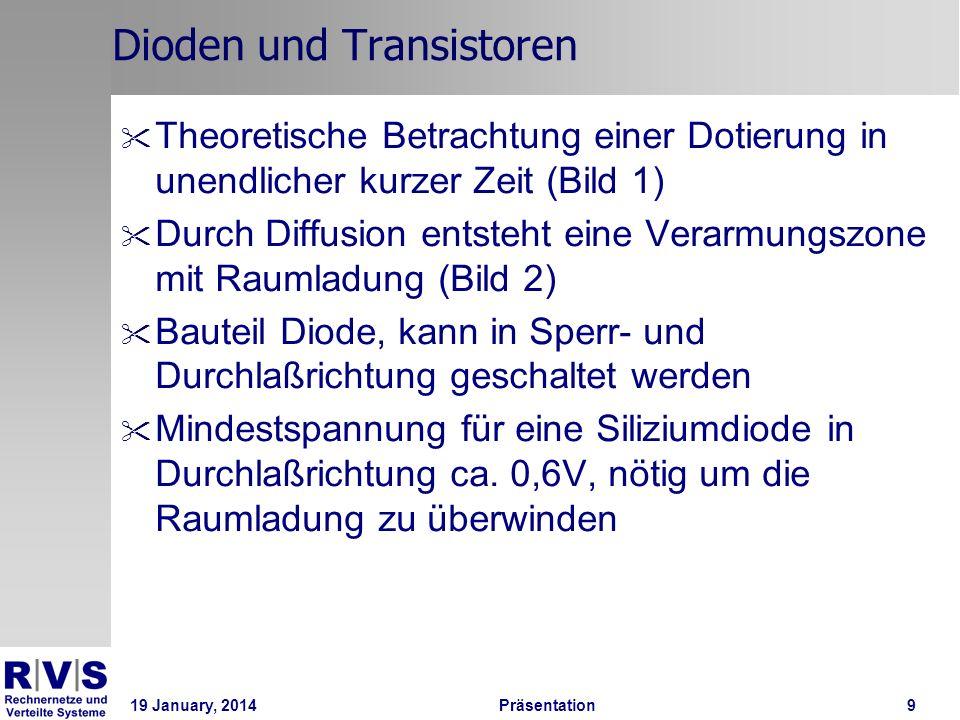 Dioden und Transistoren