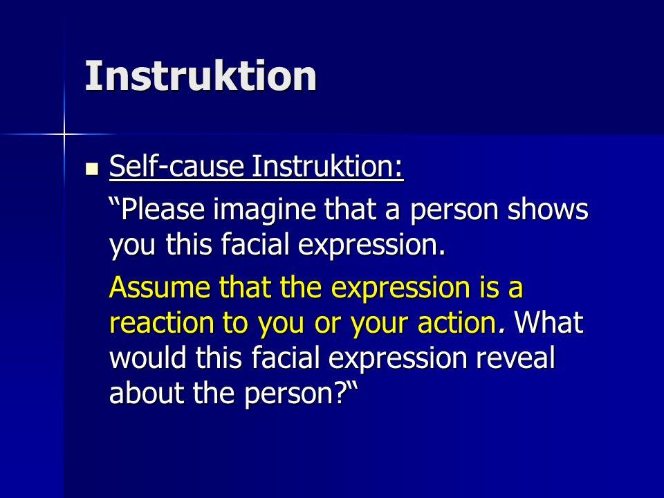 Instruktion Self-cause Instruktion: