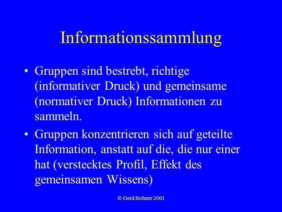 Informationssammlung