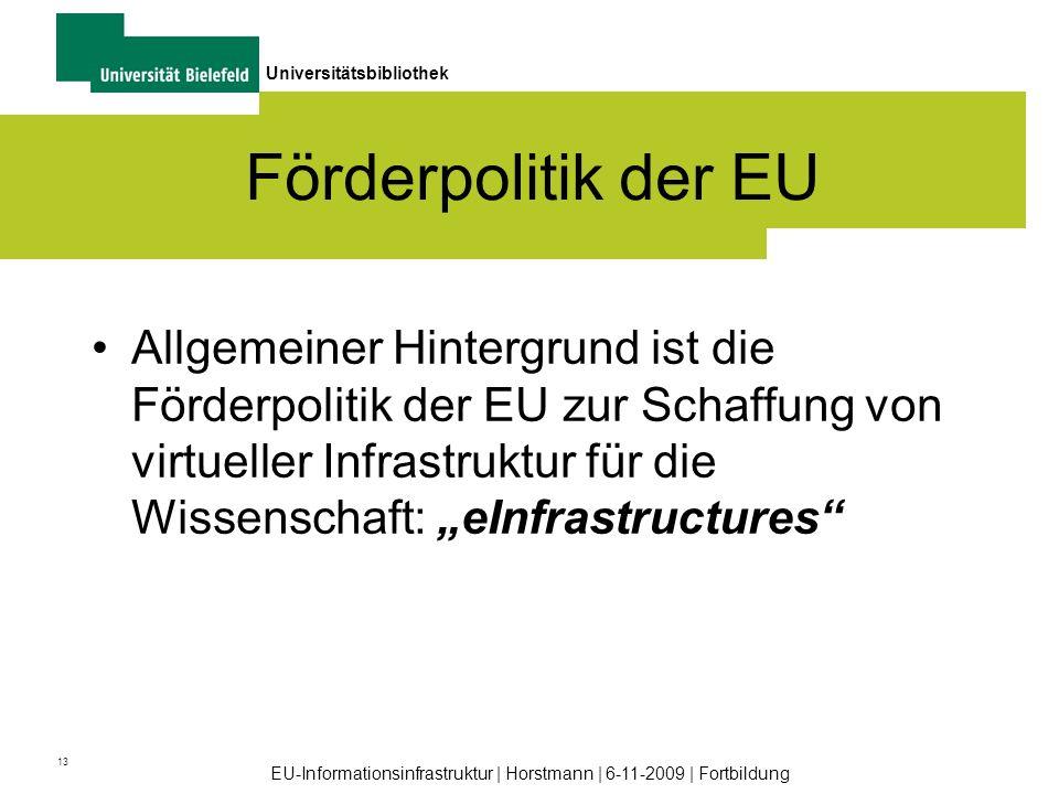 Förderpolitik der EU