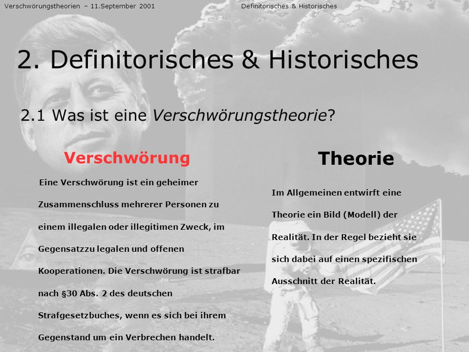 2. Definitorisches & Historisches