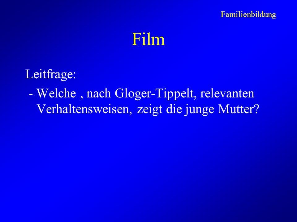 Familienbildung Film.