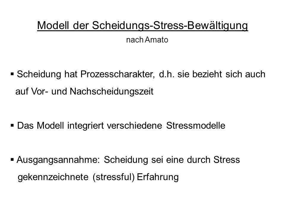 Modell der Scheidungs-Stress-Bewältigung