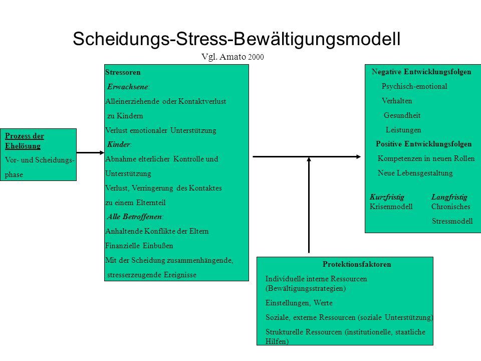 Scheidungs-Stress-Bewältigungsmodell
