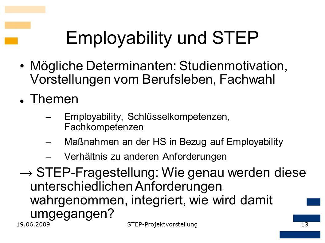 Employability und STEP