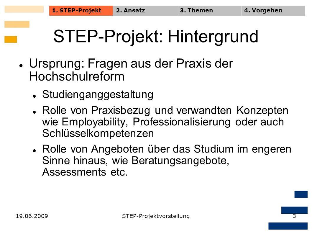 STEP-Projekt: Hintergrund