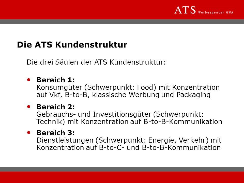 Die ATS Kundenstruktur