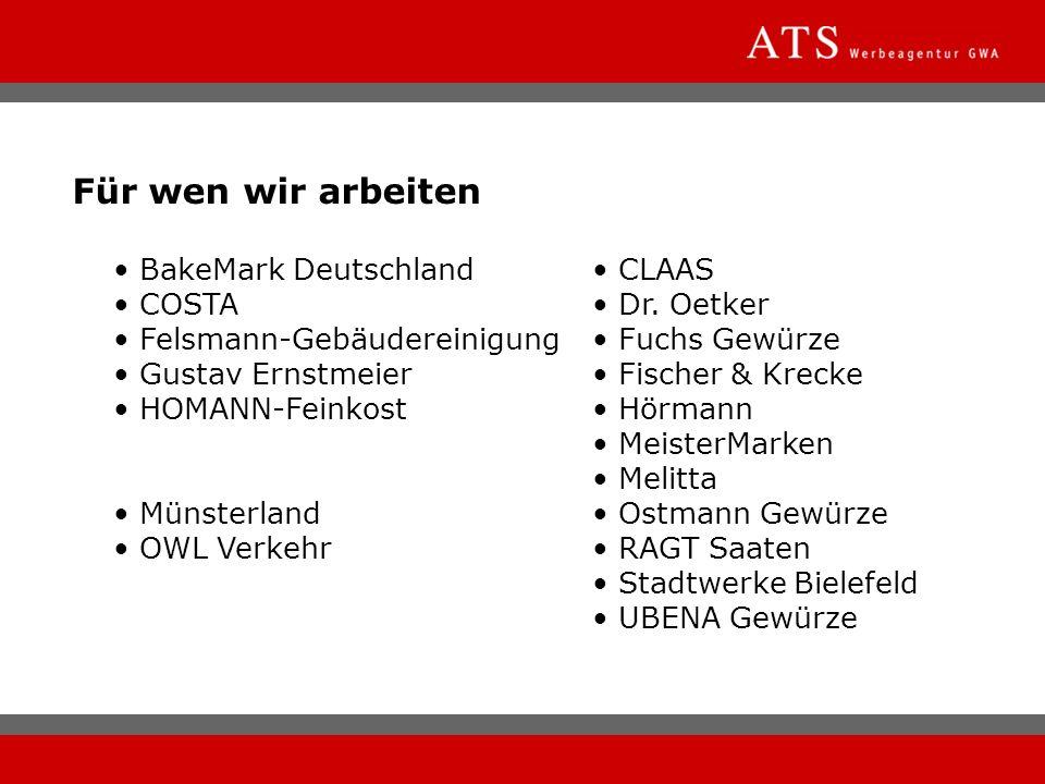 Für wen wir arbeiten • BakeMark Deutschland • CLAAS