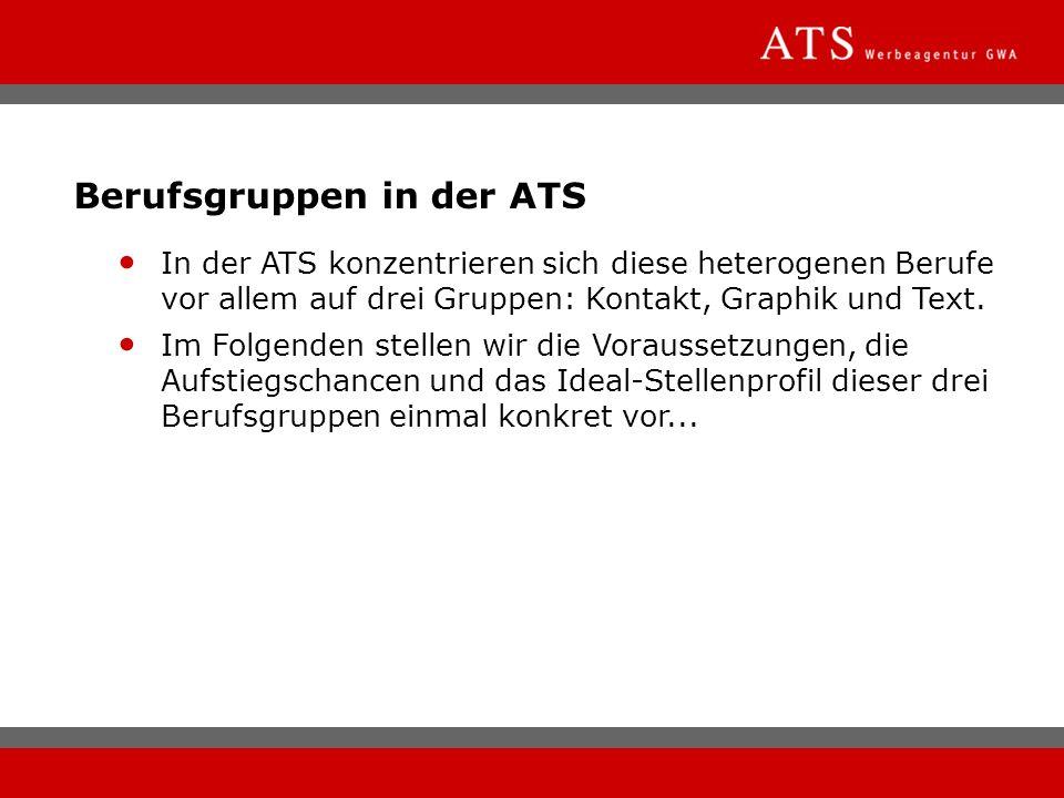 Berufsgruppen in der ATS