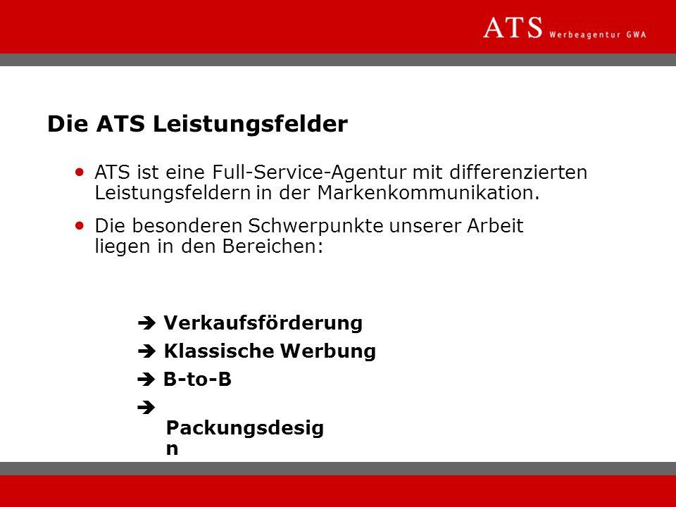 Die ATS Leistungsfelder