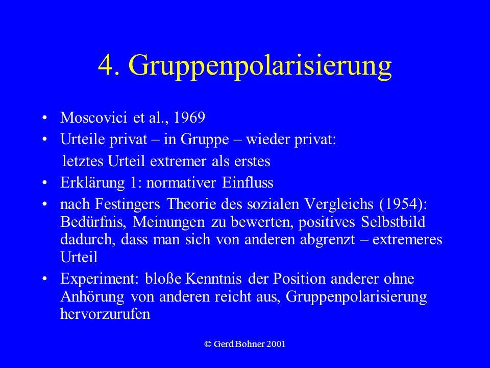 4. Gruppenpolarisierung