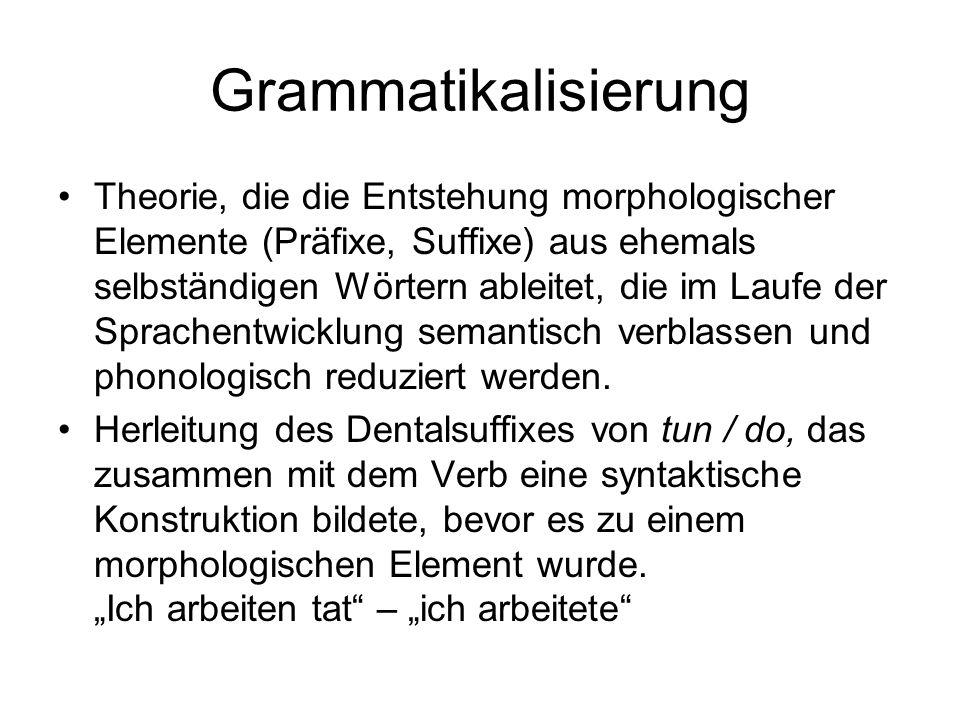 Grammatikalisierung