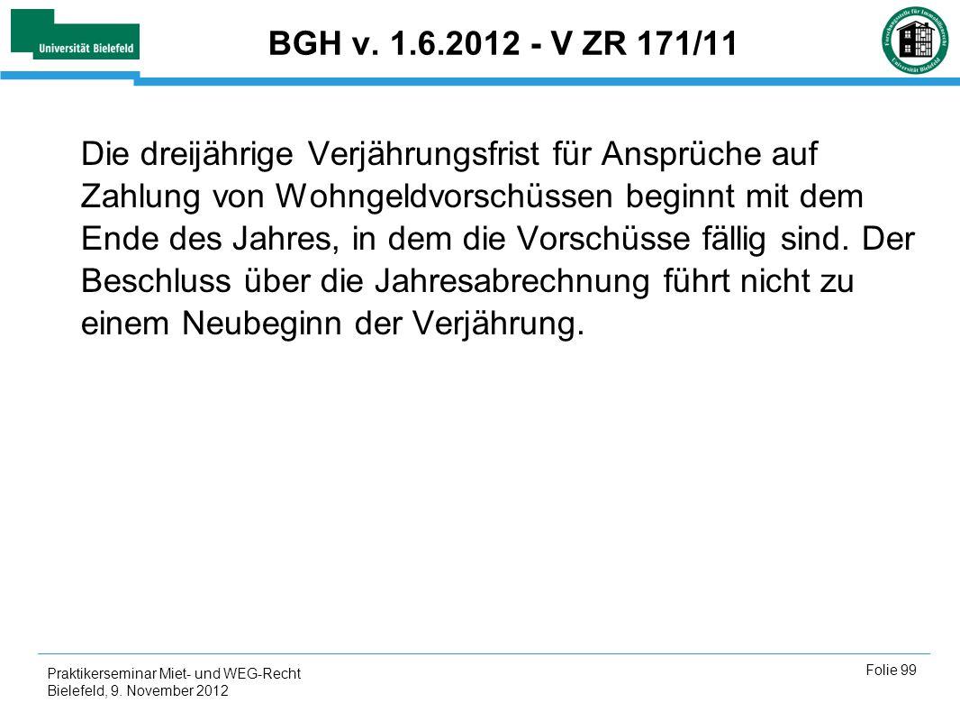 BGH v. 1.6.2012 - V ZR 171/11