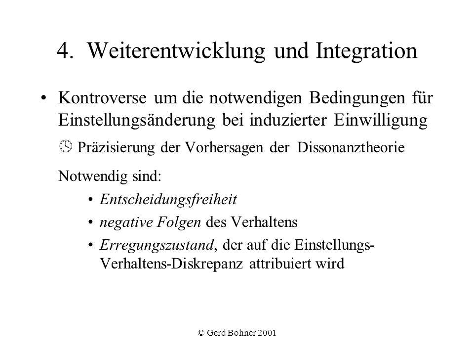 4. Weiterentwicklung und Integration