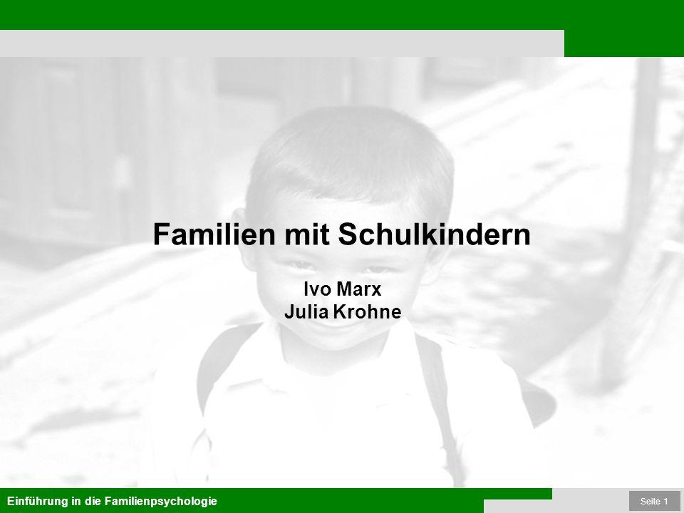 Familien mit Schulkindern