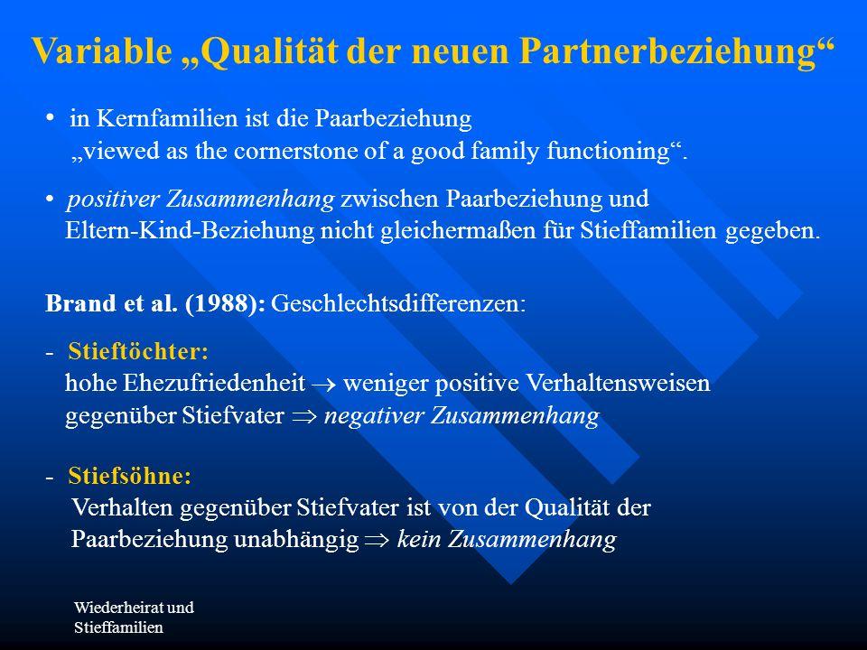 "Variable ""Qualität der neuen Partnerbeziehung"