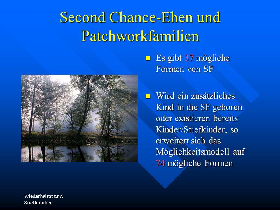 Second Chance-Ehen und Patchworkfamilien