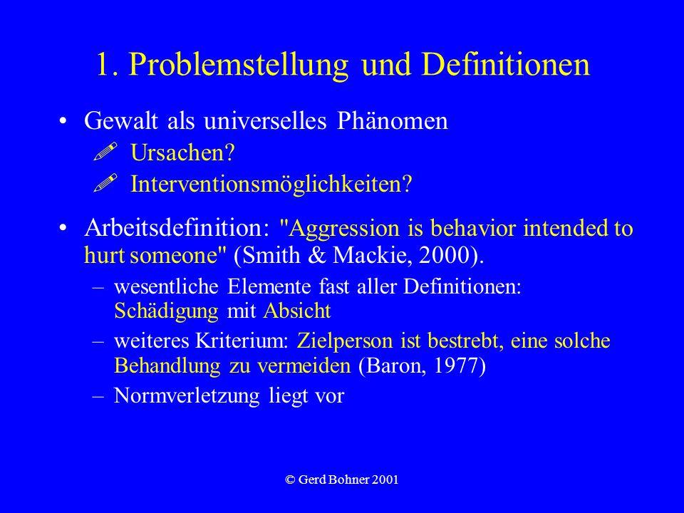 1. Problemstellung und Definitionen