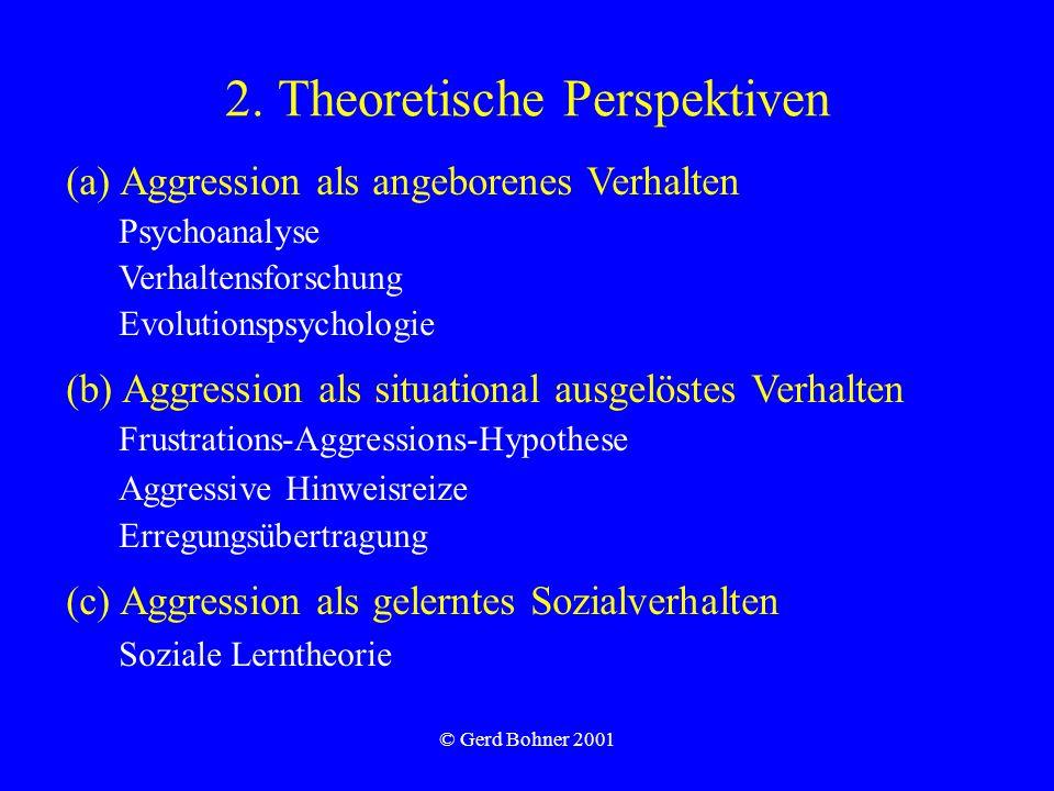 2. Theoretische Perspektiven
