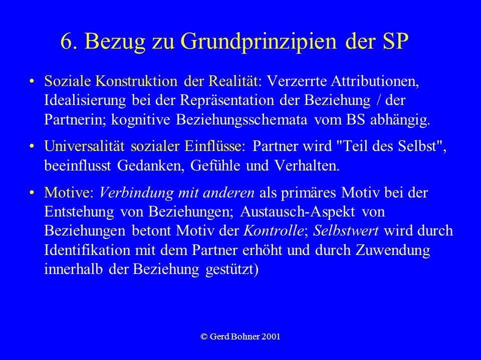 6. Bezug zu Grundprinzipien der SP
