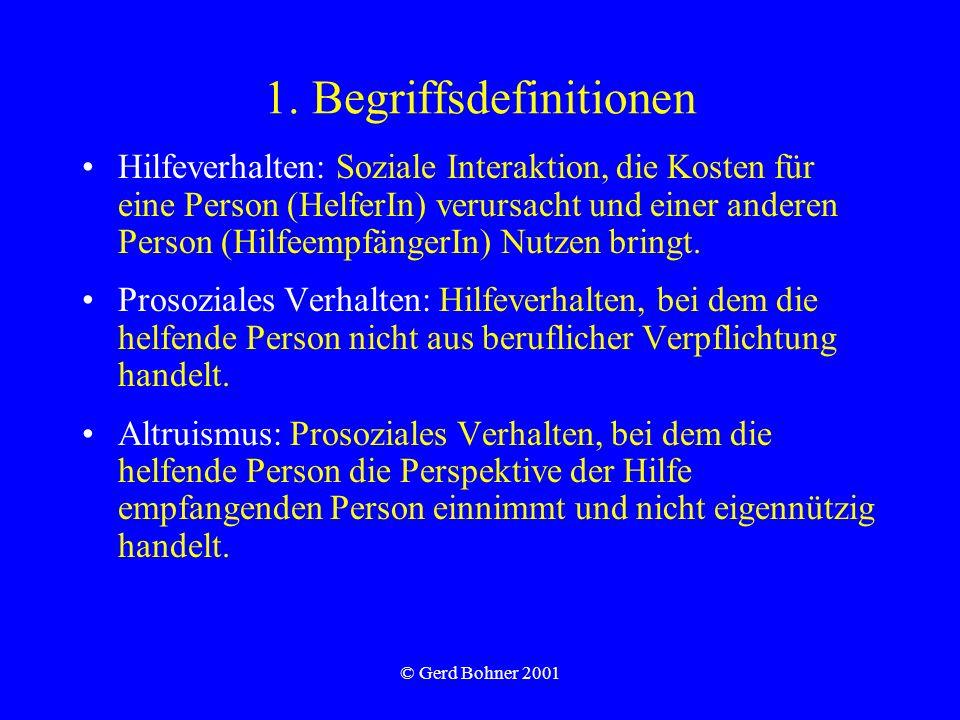 1. Begriffsdefinitionen